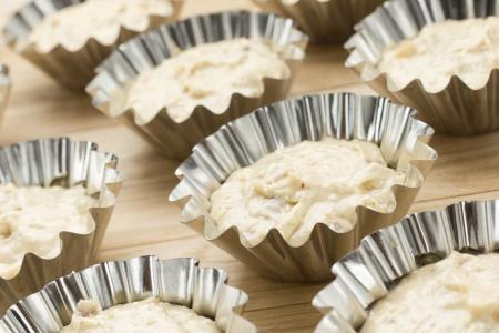 Raw muffins photo