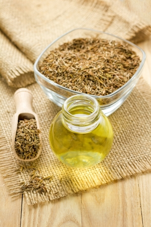 Cumin oil Stock Photo - 16136821