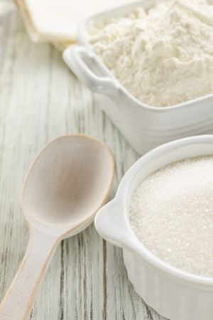 Flour, sugar photo