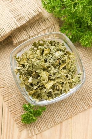 Dried parsley Stock Photo - 16374363