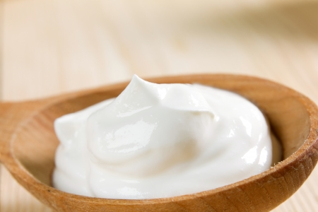 natural product: Fresh sour cream