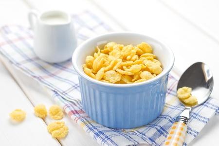 corn flakes: Cornflakes Stock Photo