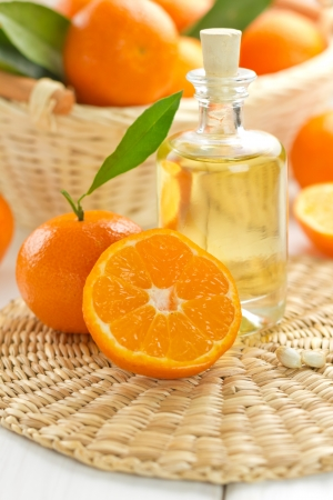 perfume bottle: Tangerine essential oil