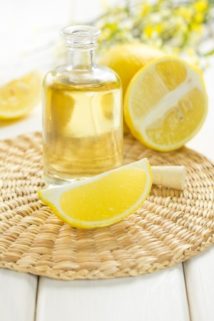 lemon oil photo