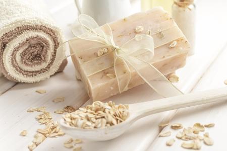 productos de belleza: Jabón de Avena