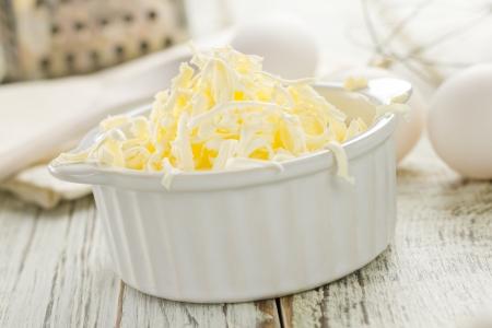 grated: Margarine