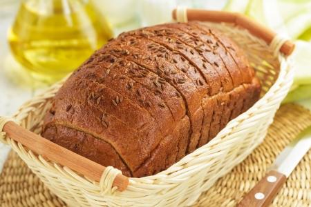 brown bread: Bread