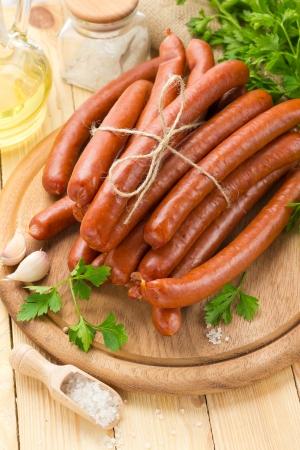 cooked sausage: Sausage
