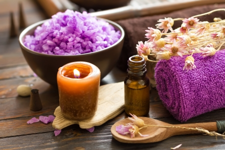 aromatherapy oils: Spa