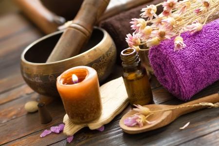 wooden aromatherapy: Spa