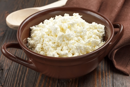 cottage cheese: Cheese cottage
