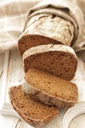 black bread: Bread