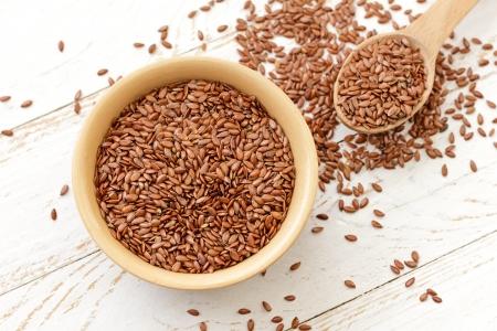 flaxseed: Flax Stock Photo