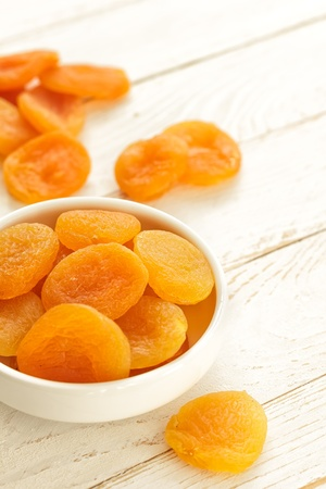 Dried apricots Stock Photo - 18508343