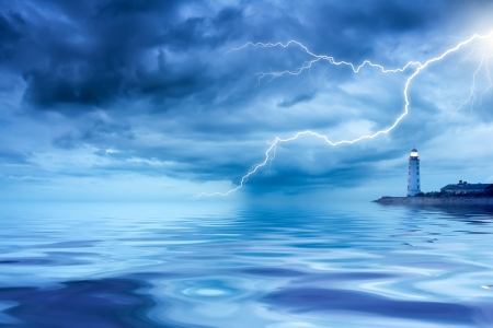 storm tide: Lighthouse