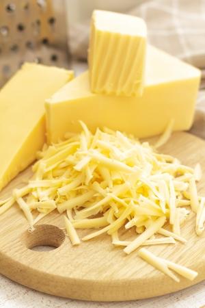 queso rallado: Queso