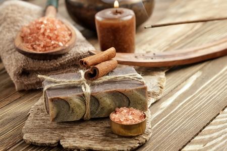 Cinnamon soap photo