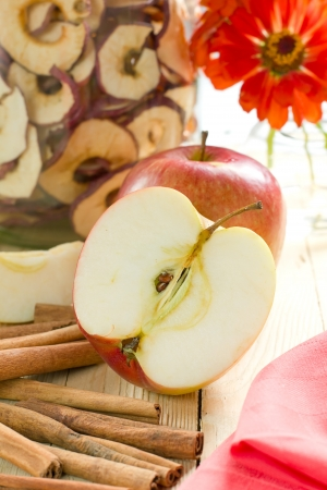 flavoring: Apples with cinnamon
