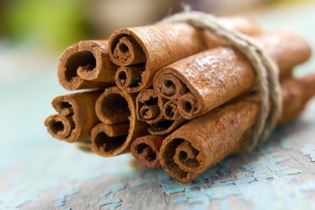 cinnamon bark: Cinnamon Stock Photo