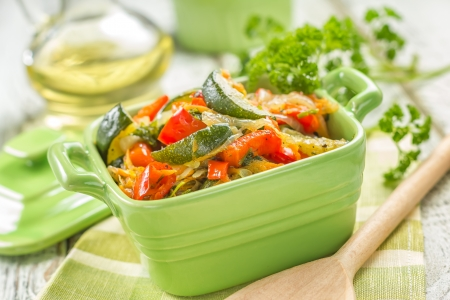 Vegetable stew photo