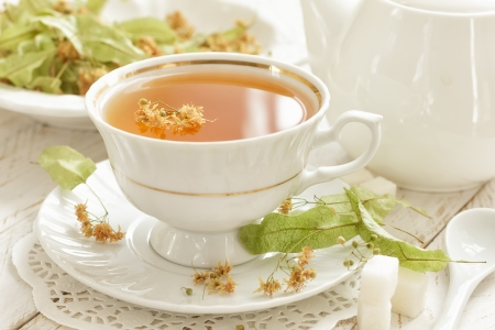 Linden tea photo