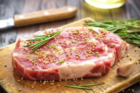 fresh meat: Meat Stock Photo