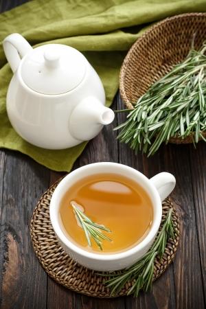 remedy: Rosemary tea