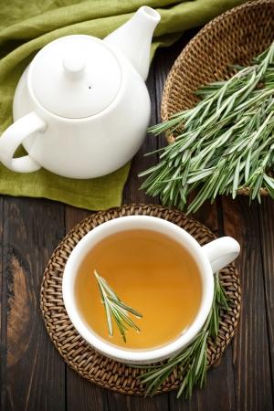 herbal remedy: Rosemary tea