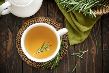 Rosemary tea photo