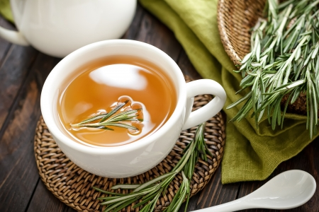infusion: Rosemary tea