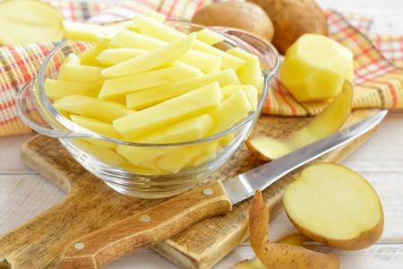 tuber: Potato Stock Photo