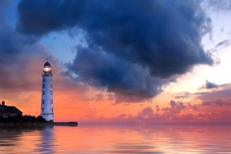 Latarnia morska Zdjęcie Seryjne