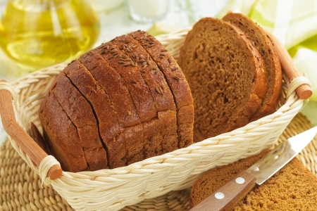 french loaf: Bread