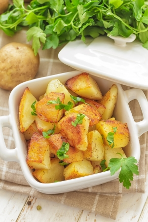 baked potato: Potato Stock Photo