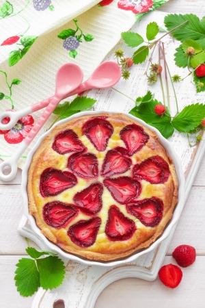 Strawberry pie Stock Photo - 20046034
