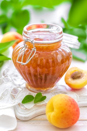 marmalade: Apricot jam
