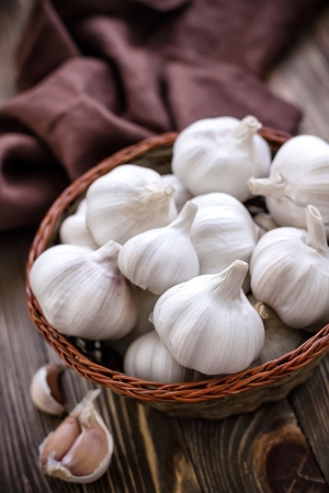 fresh garlic: Garlic