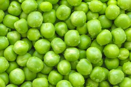 Groene erwten achtergrond