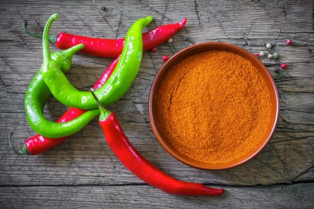 red chili pepper: Chili