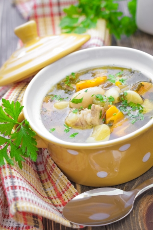 bulion: Zupa fasolowa Zdjęcie Seryjne