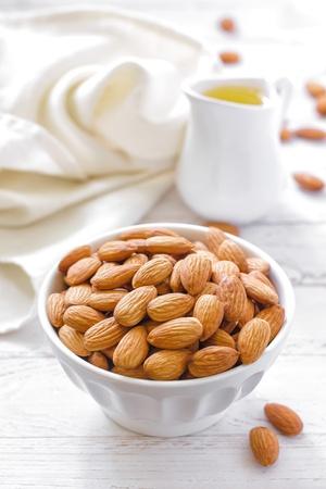 nuts: Almond oil