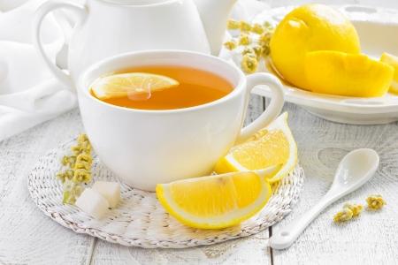 lemon grass: Tea Stock Photo