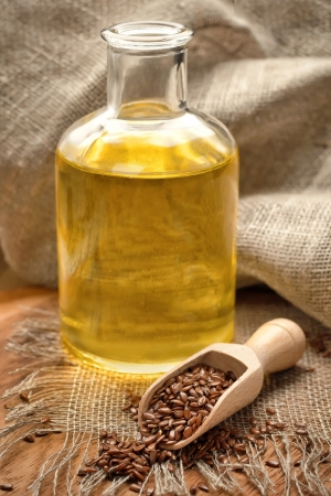 linseed oil: Linseed oil