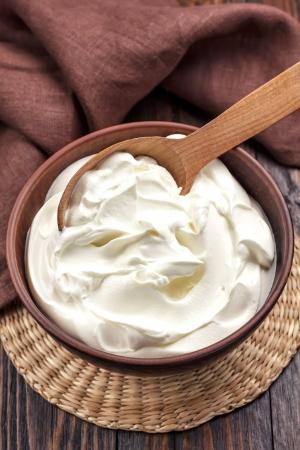 Sour cream Stock fotó - 22360123