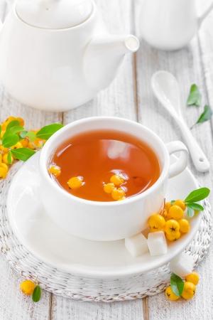 stimulated: Hawthorn tea
