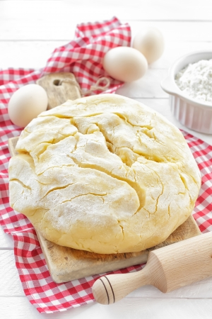 puff pastry: Dough