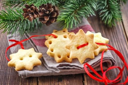 comida de navidad: Galletas de Navidad