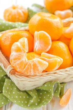 mandarin oranges: Tangerines