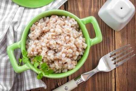 groat: Buckwheat porridge