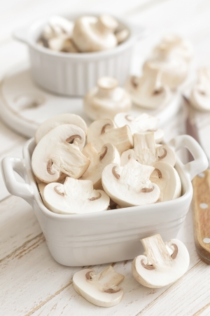 champignon: Mushrooms